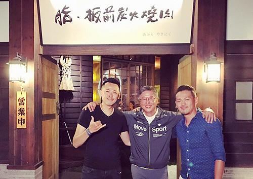 台灣資深電視節目製作人王偉忠蒞臨脂燒肉